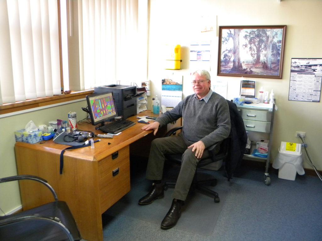 Dr Max at Eudunda consult room